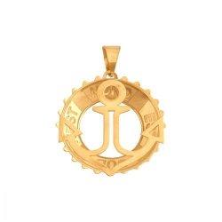 Zawieszka złota 585  Kotwica - 38892