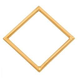 Zawieszka złota 585 kwadrat - 39928