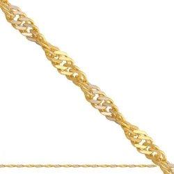 Łańcuszek złoty 585 - Lp024