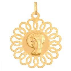 Medalik złoty 585 - 41375