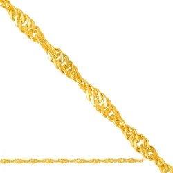 Łańcuszek złoty 585 - Lp020