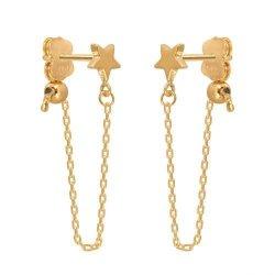 Kolczyki złote 585 sztyft - 47266