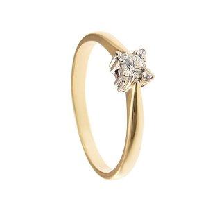 ARTES-Pierścionek złoty 585 zaręczynowy 24H PROMOCJA! BC-99