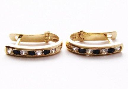 ARTES-Kolczyki złote 321 PR. 585