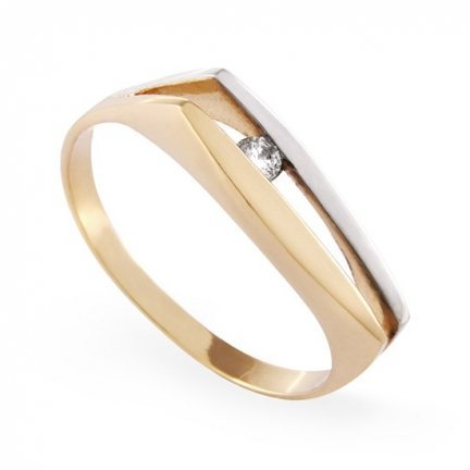 ARTES-Pierścionek złoty A-80 PR. 585