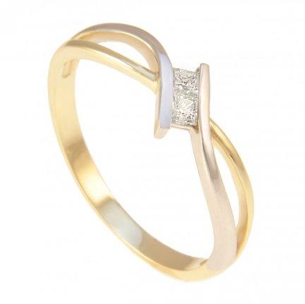 ARTES- Pierścionek złoty zaręczynowy 24H PROMOCJA! 681/585