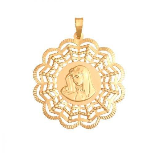 Medalik złoty 585 - 21478