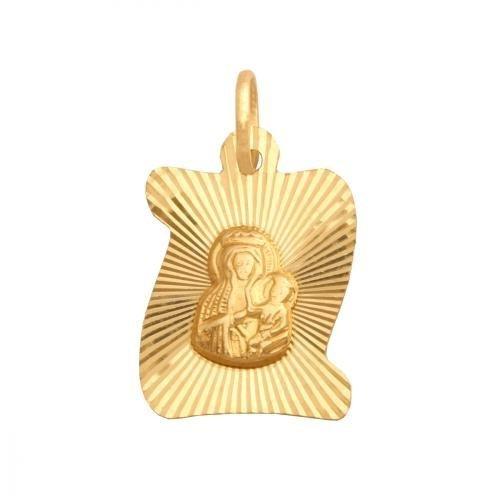 Medalik złoty 585 - 24982