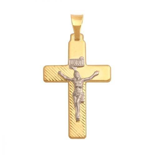 Krzyżyk złoty 585 - 27835