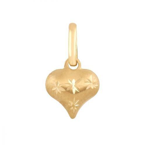 Zawieszka złota 585 serce, serduszko -  Wv082