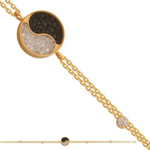 Bransoletka złota, damska 585 - 39768