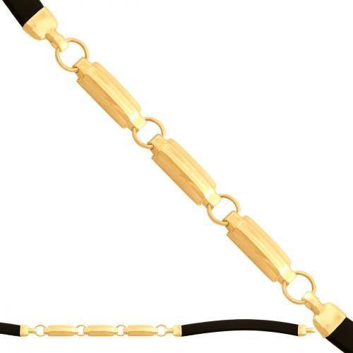 Bransoletka złota, unisex 585 - 41467