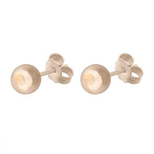 Złote kolczyki 585 - Kolczyki złote 585 sztyft - 41960