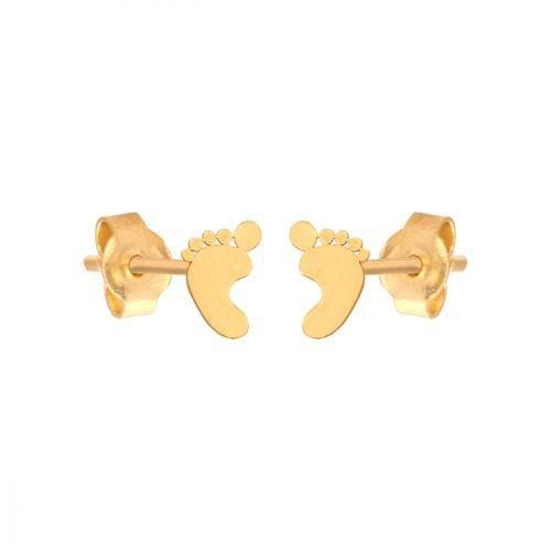 Kolczyki złote 585 sztyft - 42101