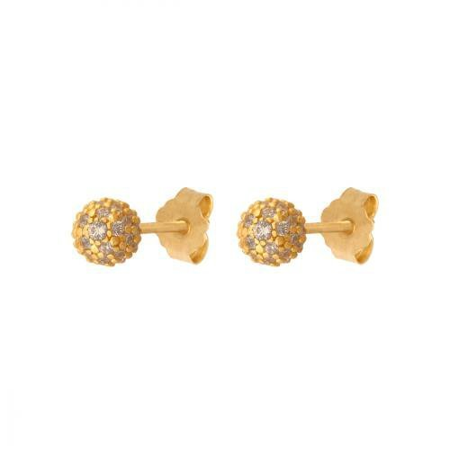 Kolczyki złote 585 sztyft - 42379