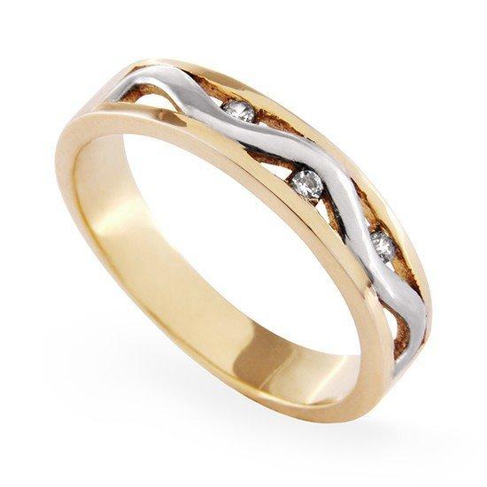 ARTES-Pierścionek złoty A-10 PR. 585