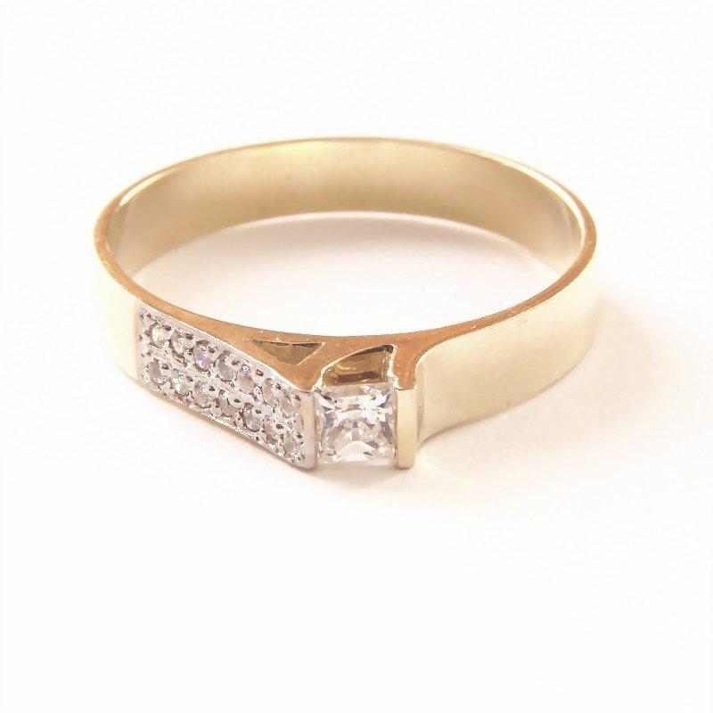 ARTES-Pierścionek złoty 560 PR. 585
