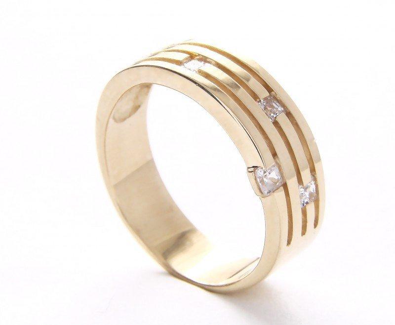ARTES-Pierścionek złoty 462 PR. 585