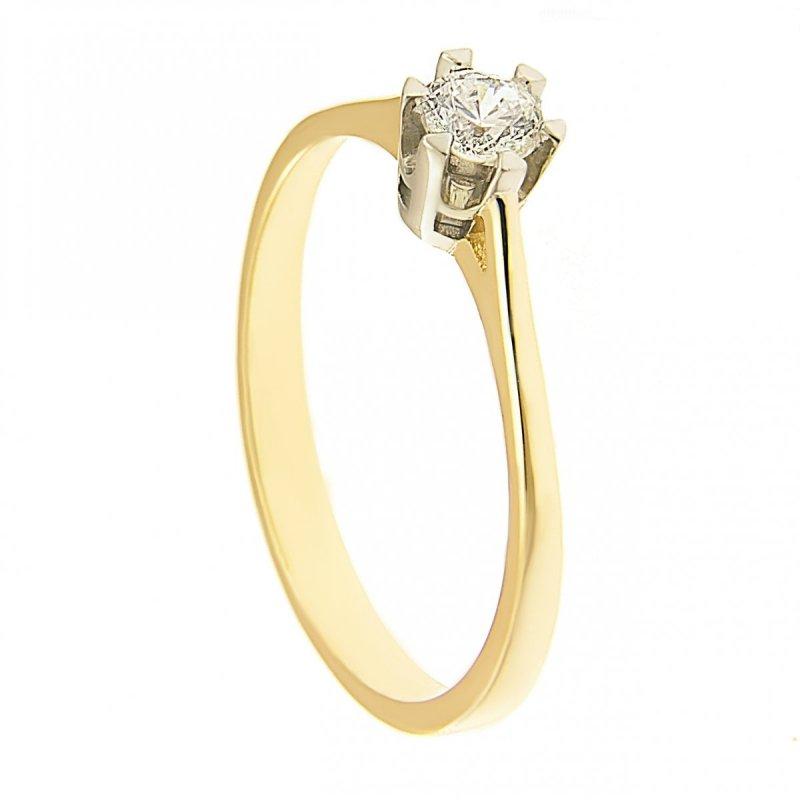 Pierścionek złoty zaręczynowy 585 PROMOCJA! 24H
