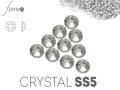 Cyrkonie Swarovski SS5 Crystal srebrne 50 sztuk