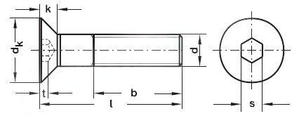 Śruba M6x15 CT aluminiowa ProBolt (2015)