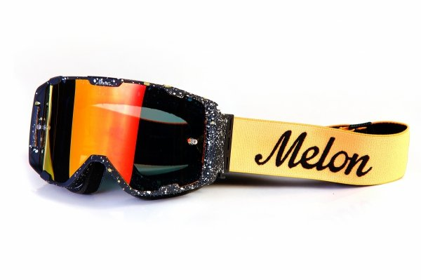 Gogle Melon PARKER MTB/MX Marmur Mat (Pasek i szkło do wyboru)