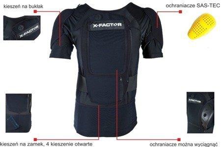 X-factor DURO - KOSZULKA Z OCHRANIACZAMI (2020)