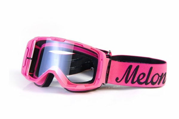 Gogle Melon PARKER MTB/MX Różowe (Pasek i szkło do wyboru)