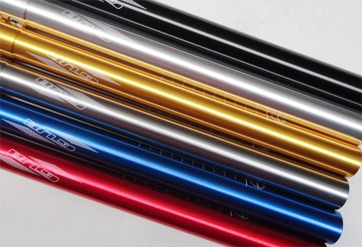 GUBbike-Wspornik siodła ULTRALIGHT-31,6mm 4 kolory (2014)