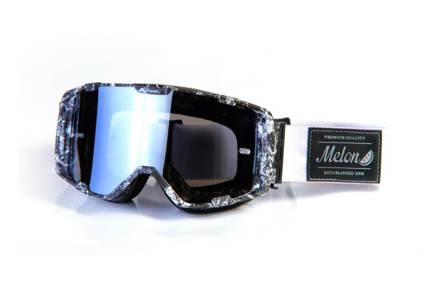 Gogle Melon PARKER MTB/MX  FARBA (Pasek i szkło do wyboru)