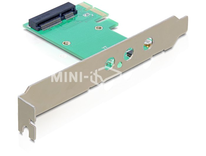 Adapter z PCI Express na Mini PCI Express + 3 x RP-SMA