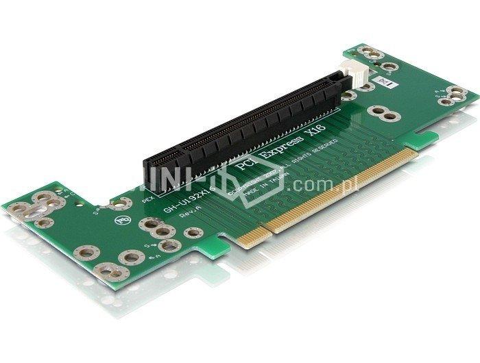 """kątownik Delock PCIe x16 dla obudów Rack 2U 19"""""""