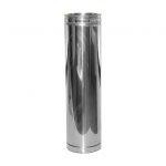 Poujoulat Rura spalinowa dwuścienna 80/125 250 mm