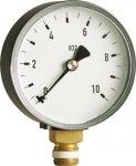 Manometr techniczny boczny 1/4 63mm do 10bar radi