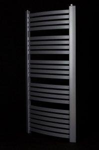 Grzejnik łazienkowy Kermit 58x94 drabinka grafit