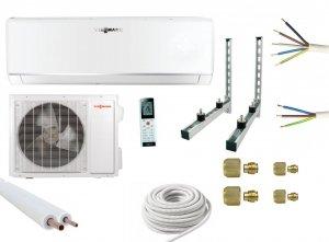 Klimatyzacja Viessmann Vitoclima 200-S 2,7 kW SPLIT WiFi z zestawem montażowym
