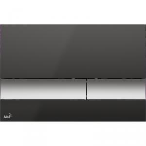 Alcaplast M1728-2 przycisk spłukujący WC czarny