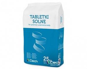Tabletki solne Ciech 25 Kg Sól do zmiękczacza pastylki