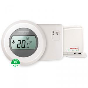 Honeywell Round Y87RFC2074 zestaw (termostat + bramka + przekaźnik)