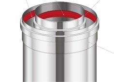 Adapter prosty Immergas 60/100 Przyłącze kotła kondensacyjnego