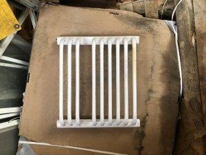 Ins-Term G-10/50 550x480 drabinka łazienkowa biała
