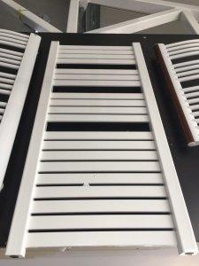 Enix Hiacynt H-612 555x1180 biała drabinka łazienkowa