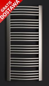 Dalis d-612 600x1154 Enix Grzejnik łazienkowy srebrny