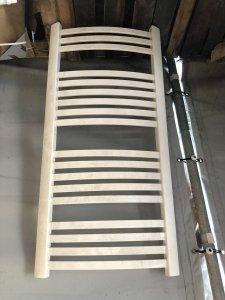 Grzejnik łazienkowy Kermit 58x140 biały obity