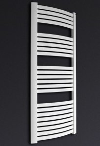 Grzejnik łazienkowy Kermit 58x120 drabinka biała