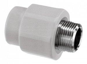 Złączka PP nypel 25x1/2 gz zgrzewany Vesbo