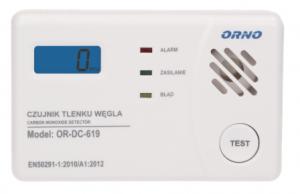 Orno OR-DC-619 czujnik tlenku węgla czadu