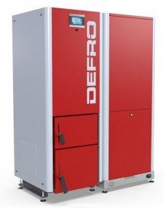 Defro Gamma 25 kW automatyczny kocioł peletowy do 310 m2