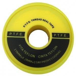 Taśma Teflonowa teflon profesjonalny woda gaz 15m