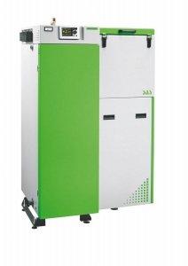 SAS Bio Efekt 23 kW kocioł na pellet z podajnikiem do 250 m2